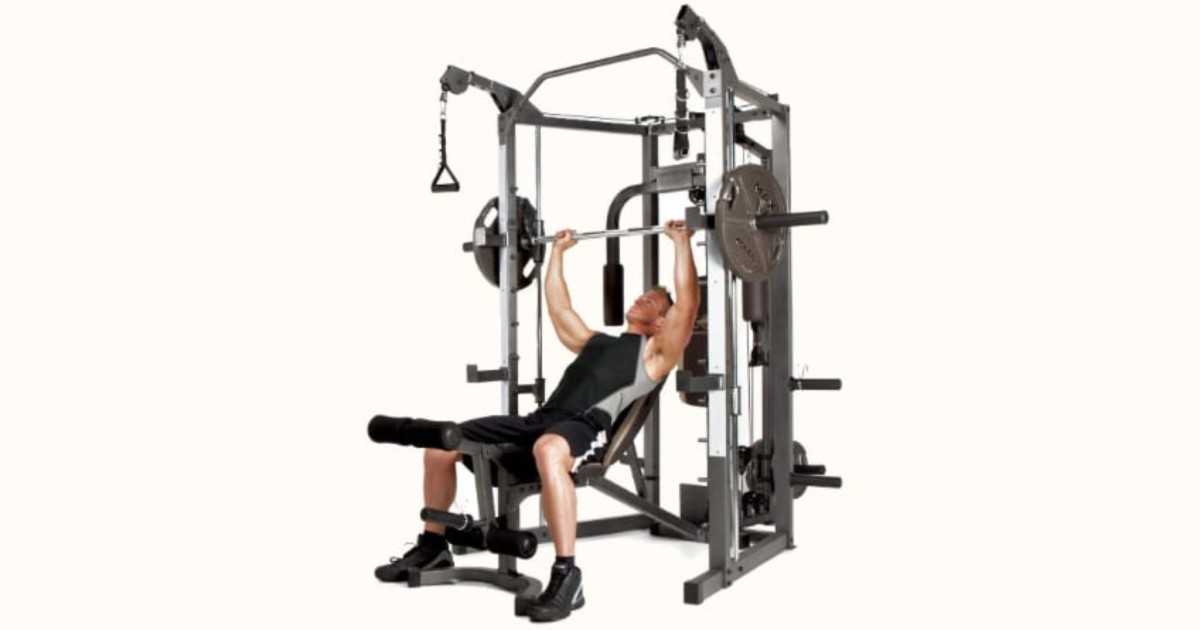 Why Buy An Affordable Smith Machine Like The Marcy SM-4008?
