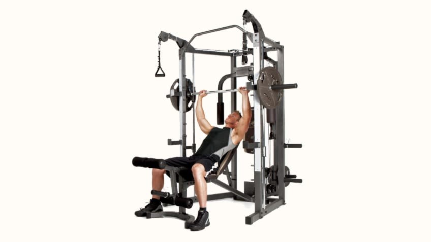 f851ce66ab9 Why Buy An Affordable Smith Machine Like The Marcy SM-4008  Apr 19 2019