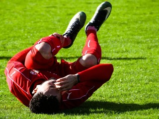 A Professional Soccer Player Experiences Painful Leg Cramps