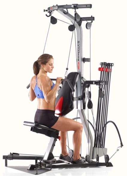 Working Out At Home On The Bowflex Xtreme 2SE Small Footprint Home Gym