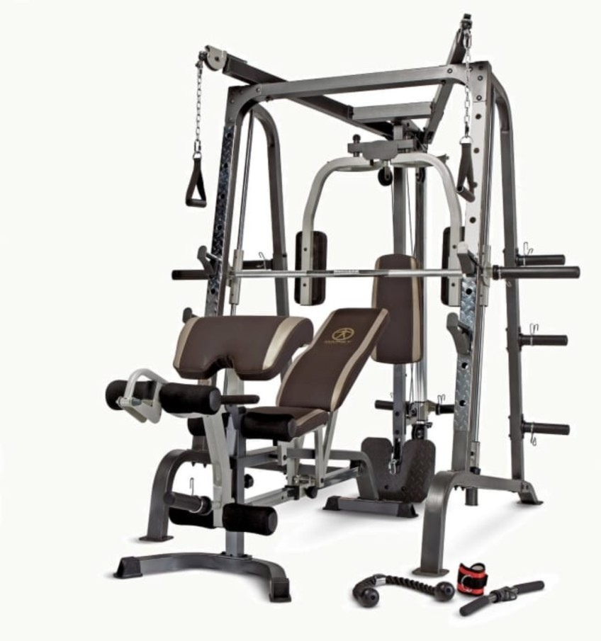 Most Complete Smith Machine? In Our Review It's The Marcy Diaomnd Elite MD-9010G