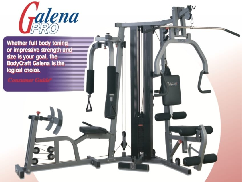 Why Is The BodyCraft Galena Pro Strength Sytem The Most Versatile Home Gym?