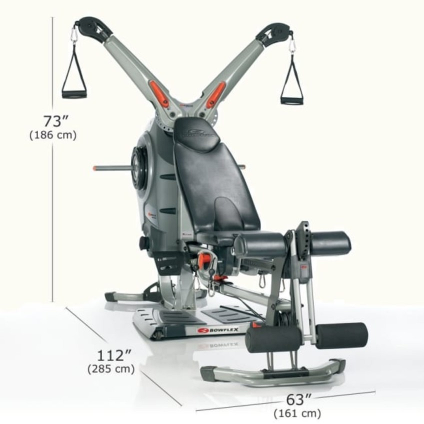 The Bowflex Revolution Home Gym Dimensions