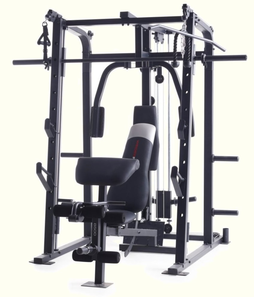 The Weider Pro 8500 Smith Machine