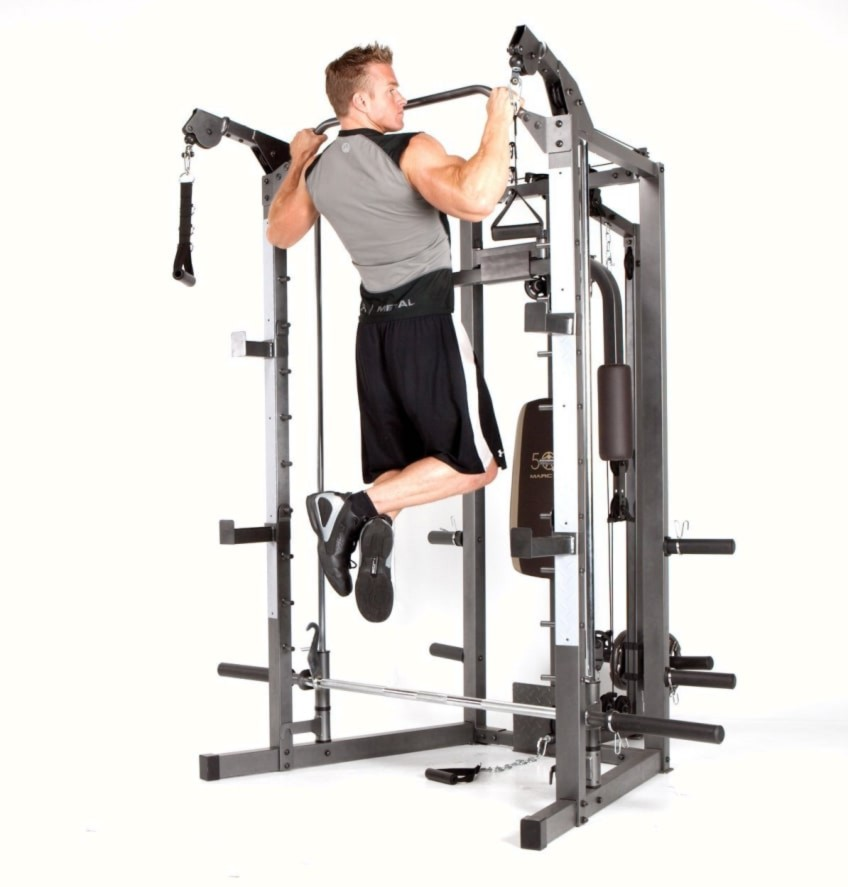 The Marcy SM-4008 Pull Up Bar Help You Build Strength In Your Home Gym