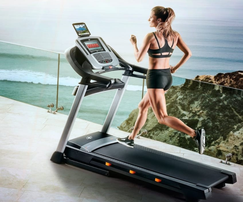 Top Rated And Best Value Treadmill For Home Use C1650 From NordicTrack