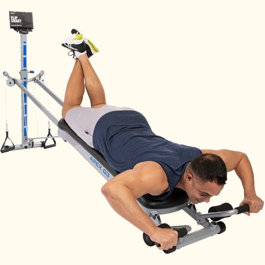 Total Gym Apex G3 Best Selling Home Gym Front Position