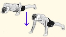 Press-Up Resistance Band Workout for Home
