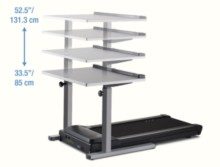 Lifespan Treadmill Desk Height Options