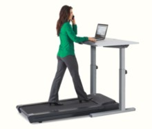 Lifespan Treadmill Desk In Use