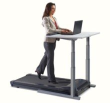 Lifespan TR1200-DT7 Treadmill Desk In Use