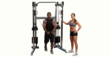 Best Weight-Stack Home Gym - The Body-Solid GDCC210