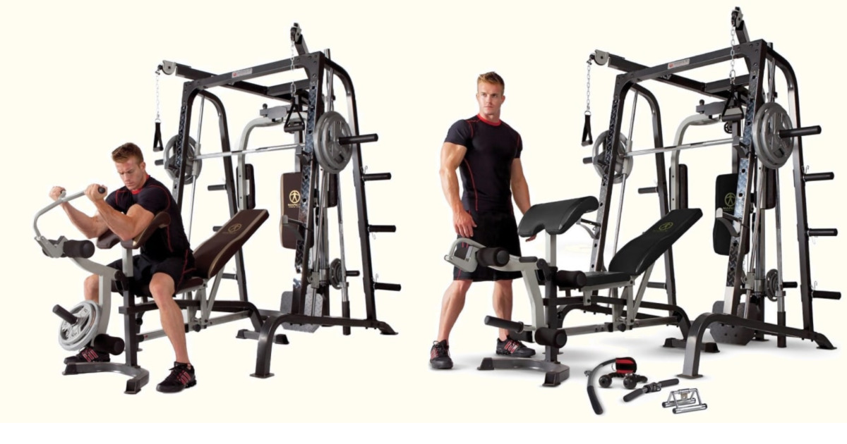 Complete Smith Machine Exercises For Whole Body Workout PDF and eBook