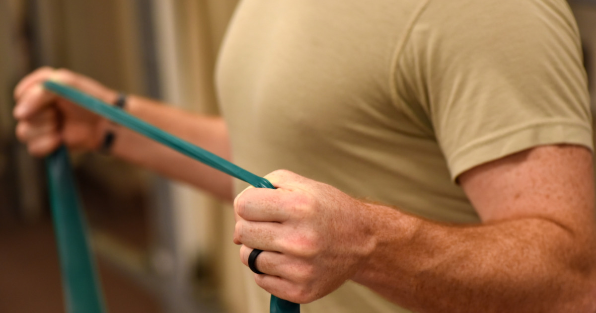 Resistance Band Workout for Home and Full Resistance Band Exercise Chart Download